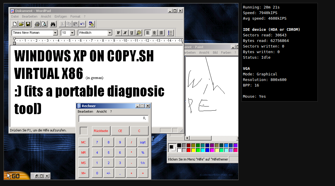 Boot Windows XP and OS/2 · Issue #86 · copy/v86 · GitHub