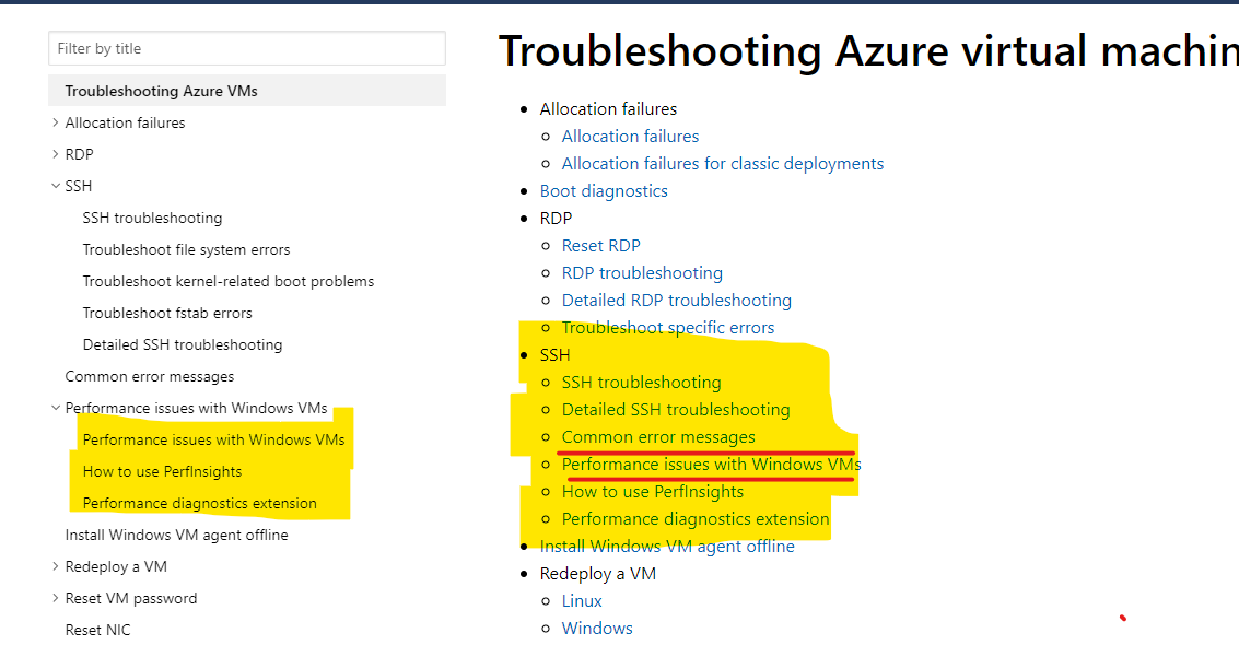 Troubleshooting page is a mess · Issue #36184