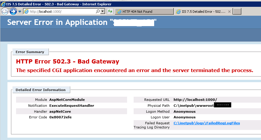 Start-UDRestApi] HTTP Error 502 5 - Process Failure · Issue #404