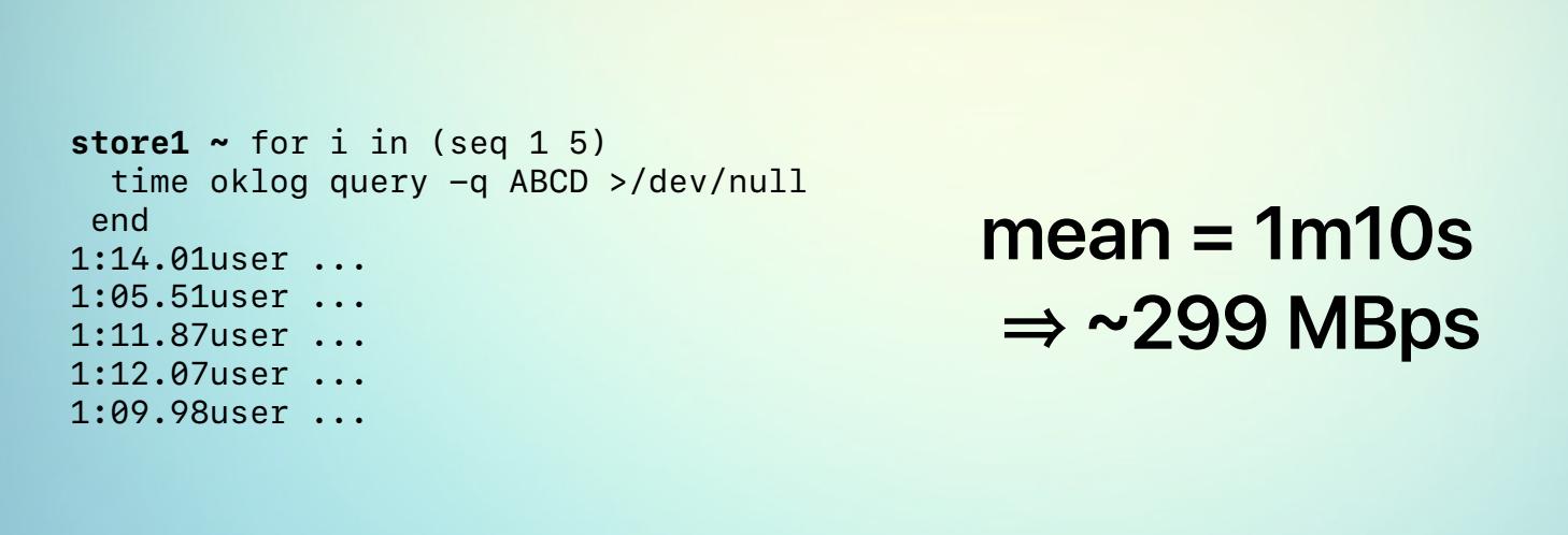 Optimizing queries