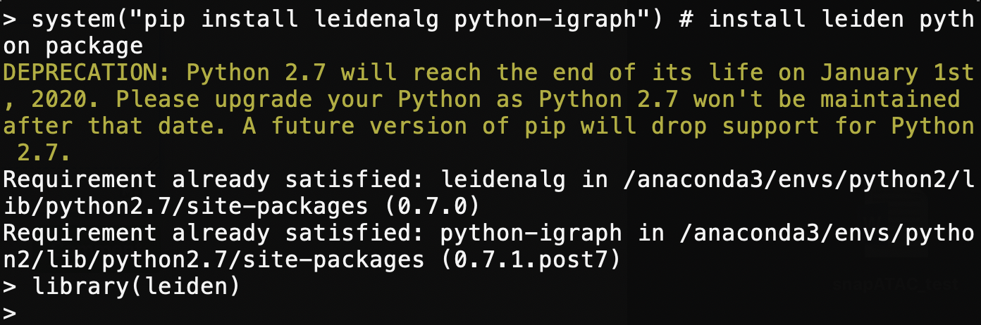 error in clustering by `leiden` · Issue #35 · r3fang