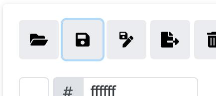 Save icon image