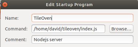 Ubuntu 18 04 install · Issue #16 · florianf/tileoven · GitHub