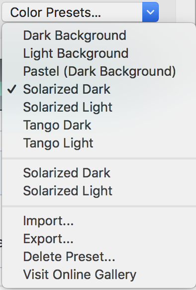 Vim editor color scheme is faded when Iterm has material-design ...