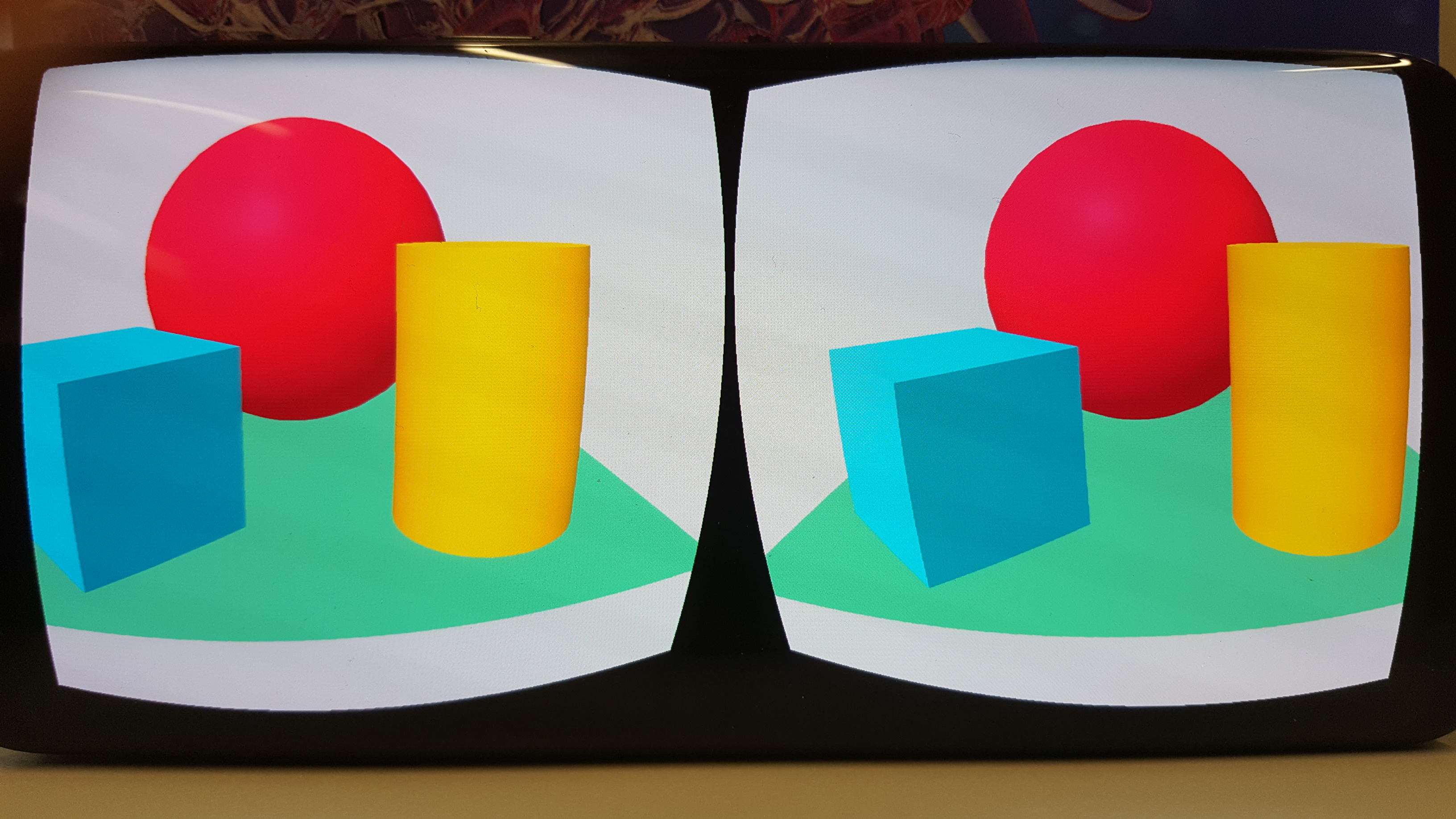 Samsung S8 device: double / blurry vision in VR (Cardboard