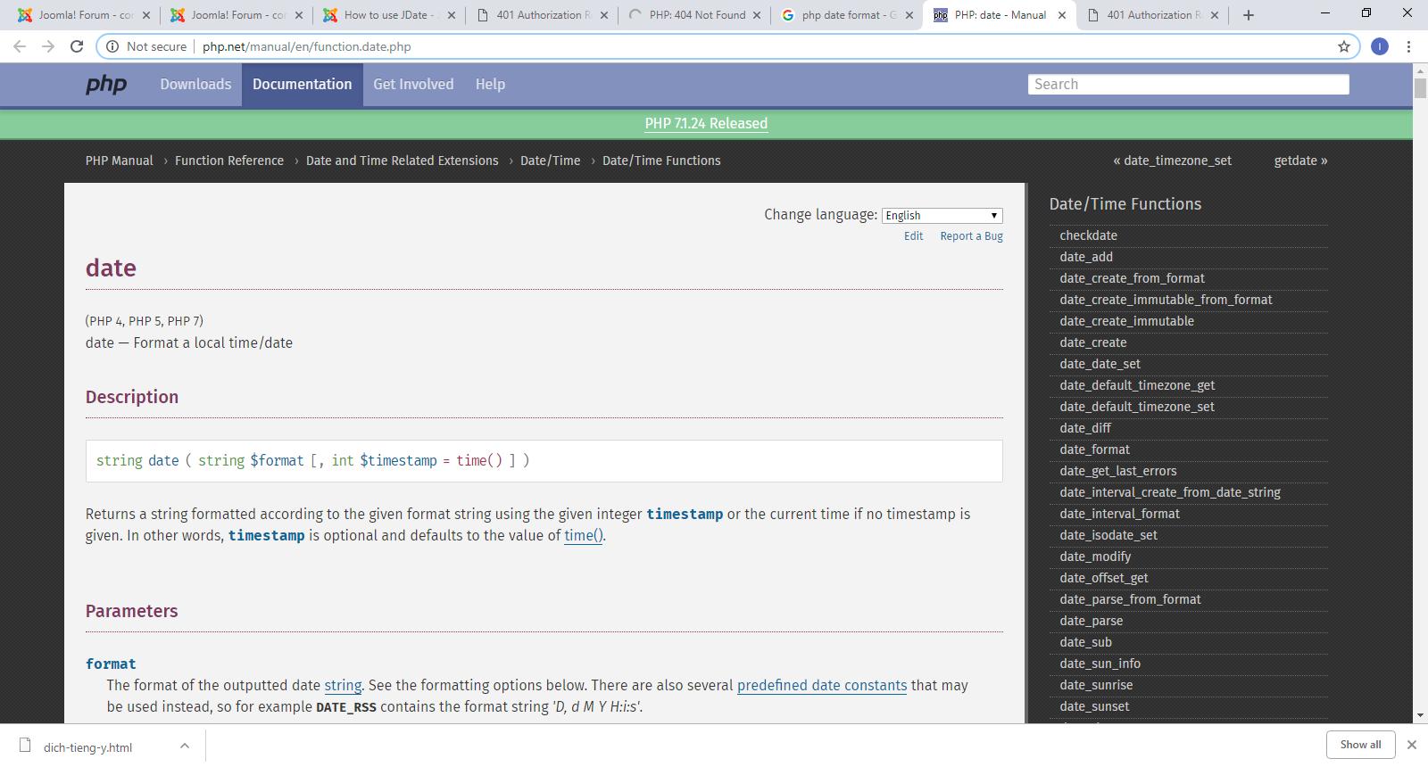 Joomla! Issue Tracker   Joomla! CMS #23082 - Change the URL to the