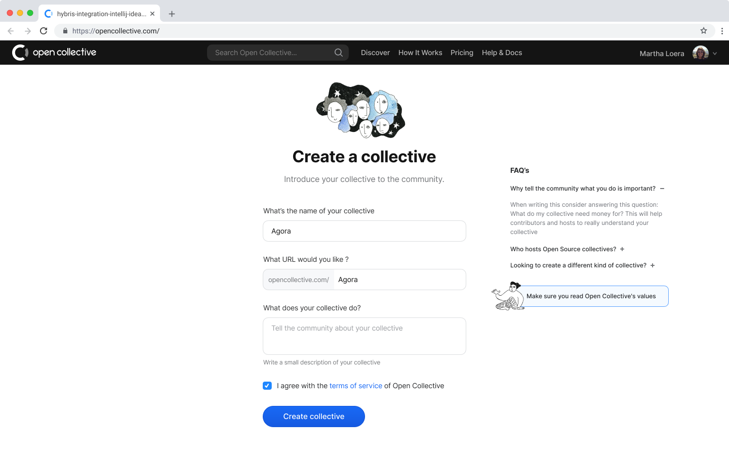 5  Create collective