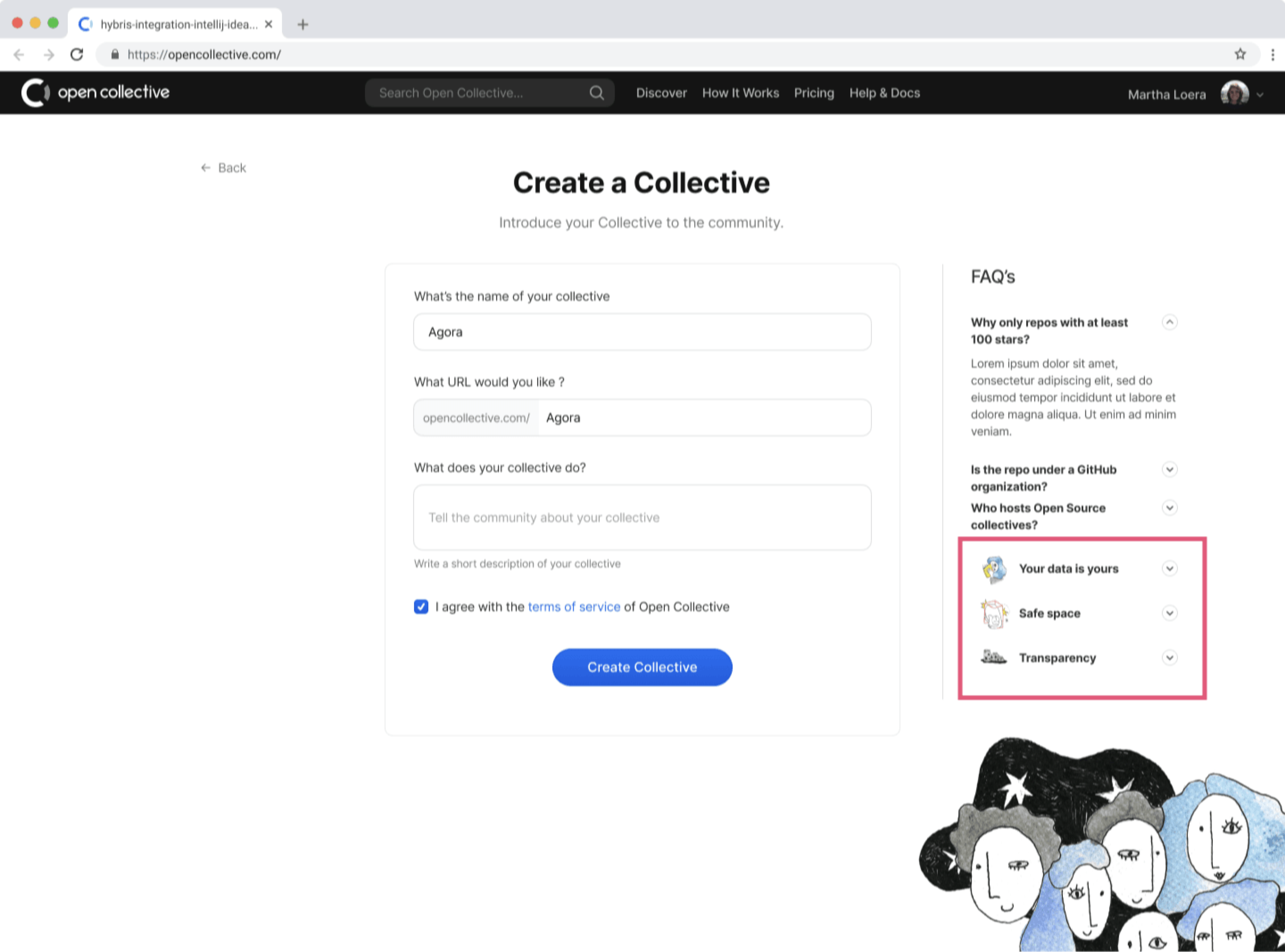 Create collective