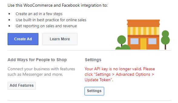 Your API key is no longer valid  Please click