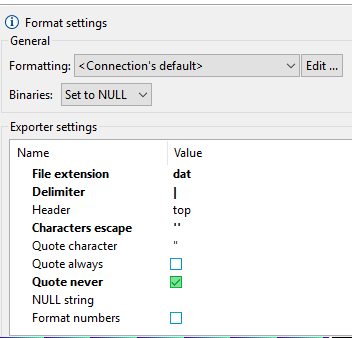 Escape character issue during Export Query Result - SQL Server