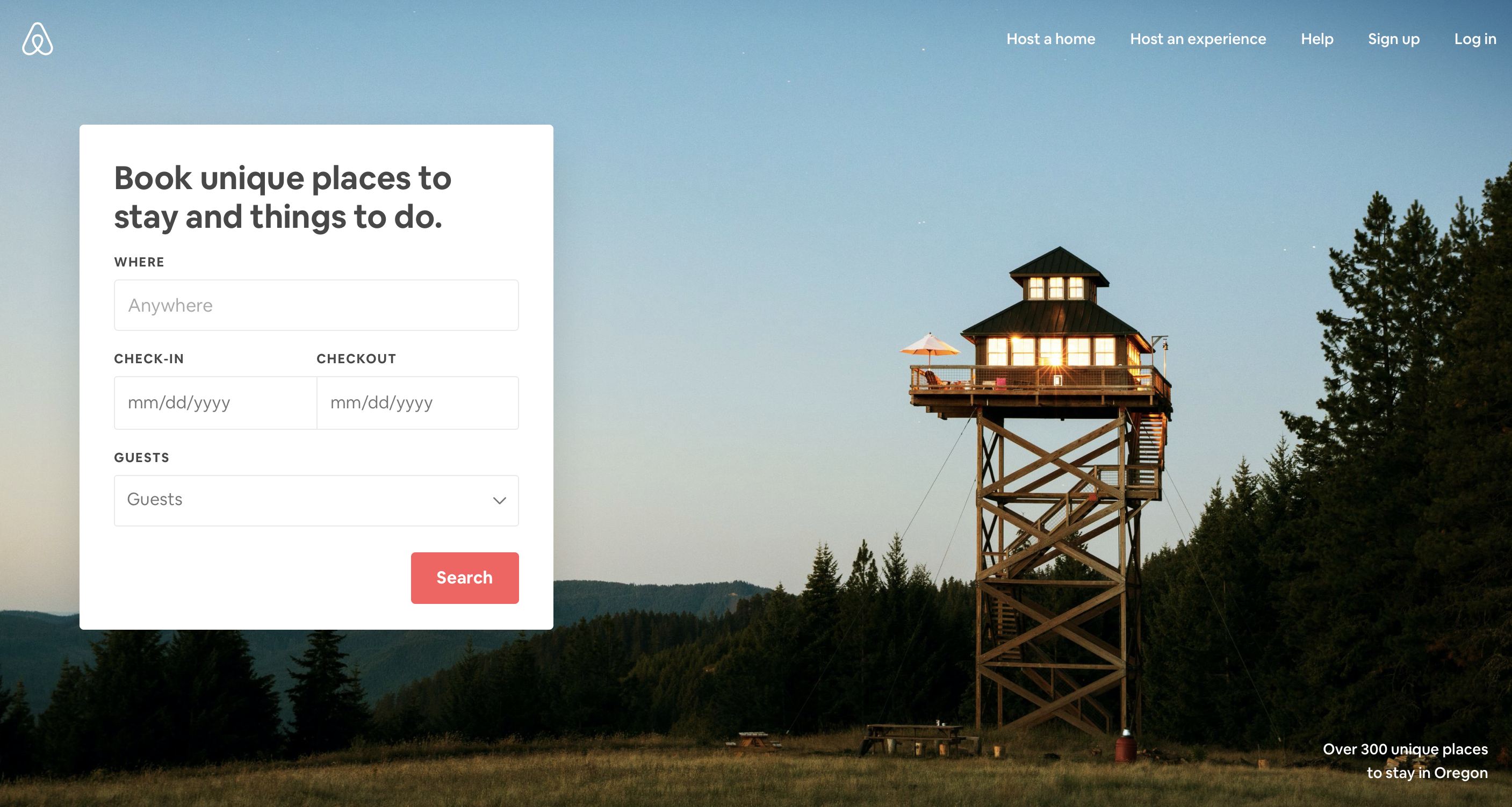 airbnb ux example