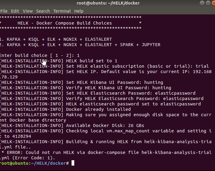 ERROR: Could not run HELK via docker-compose file helk