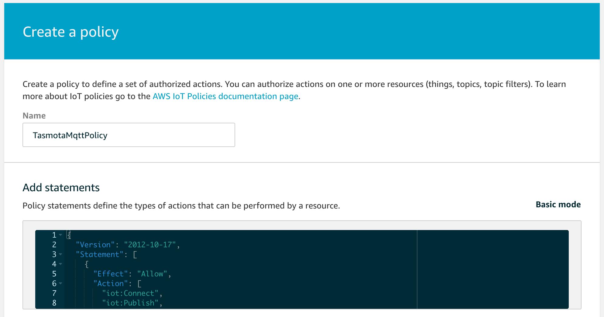 AWS IoT · arendst/Sonoff-Tasmota Wiki · GitHub