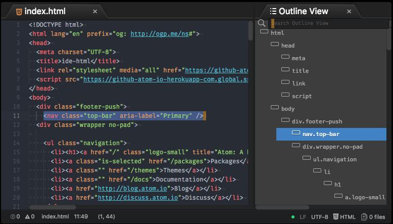 github liuderchi ide html atom ide for html go template