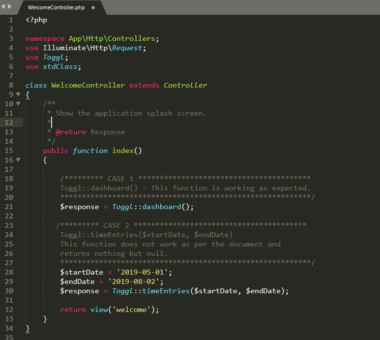 Toggl API · Issue #12 · ixudra/toggl · GitHub