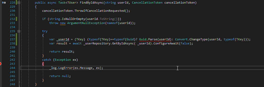 To Fix This I Added Additional Condition Check Type Before Converting Tkey