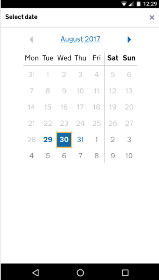 date-picker-on-mobile