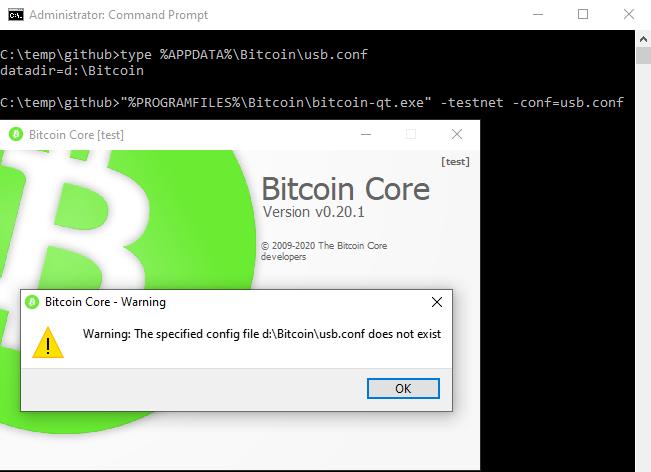 bitcoin config