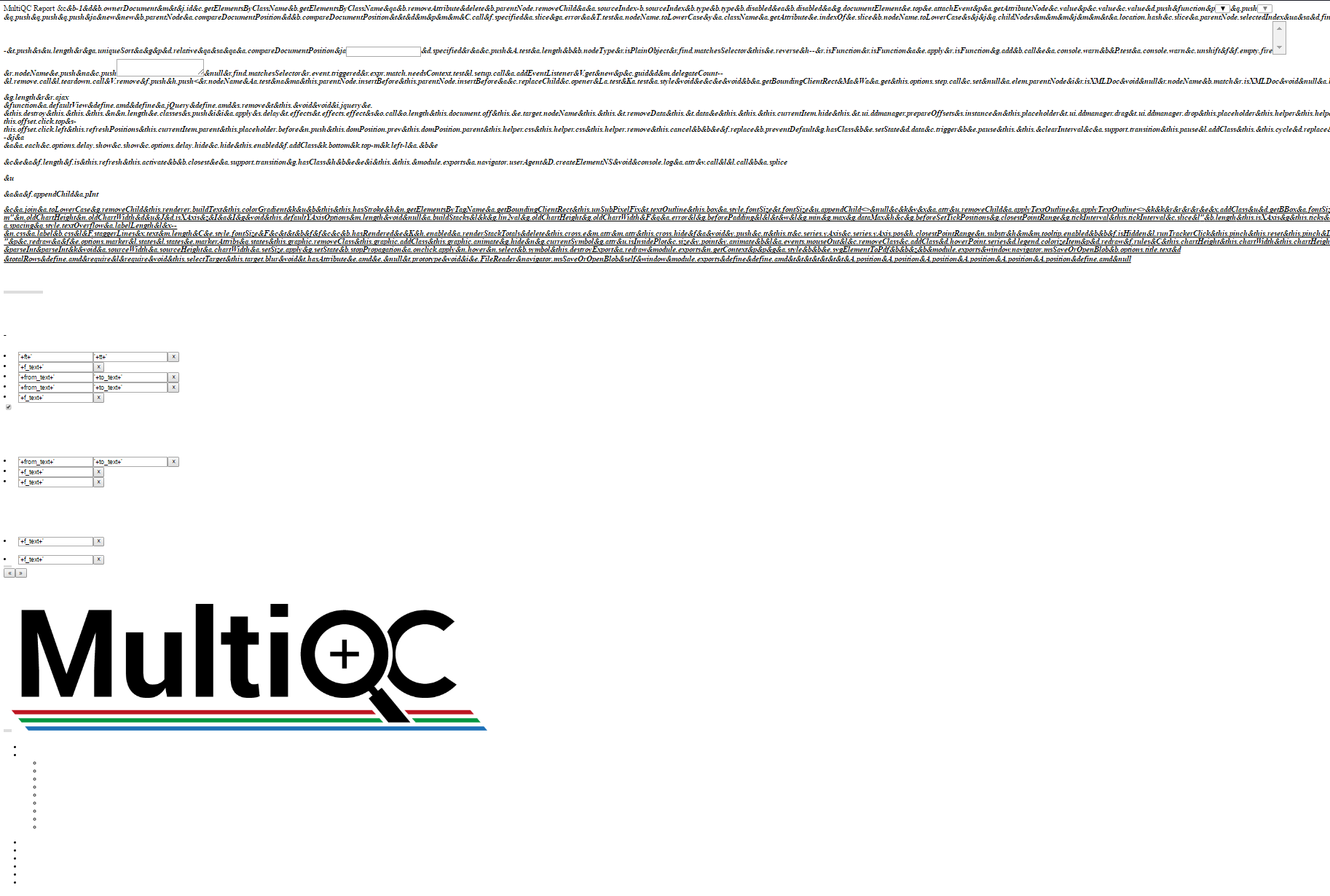 Multiqc 1 0 error on python 3 6 due to click · Issue #484 · ewels