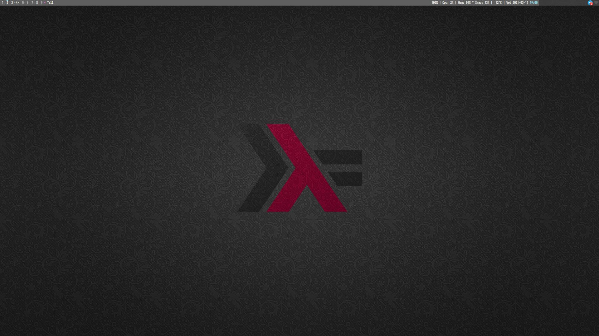 blank desktop