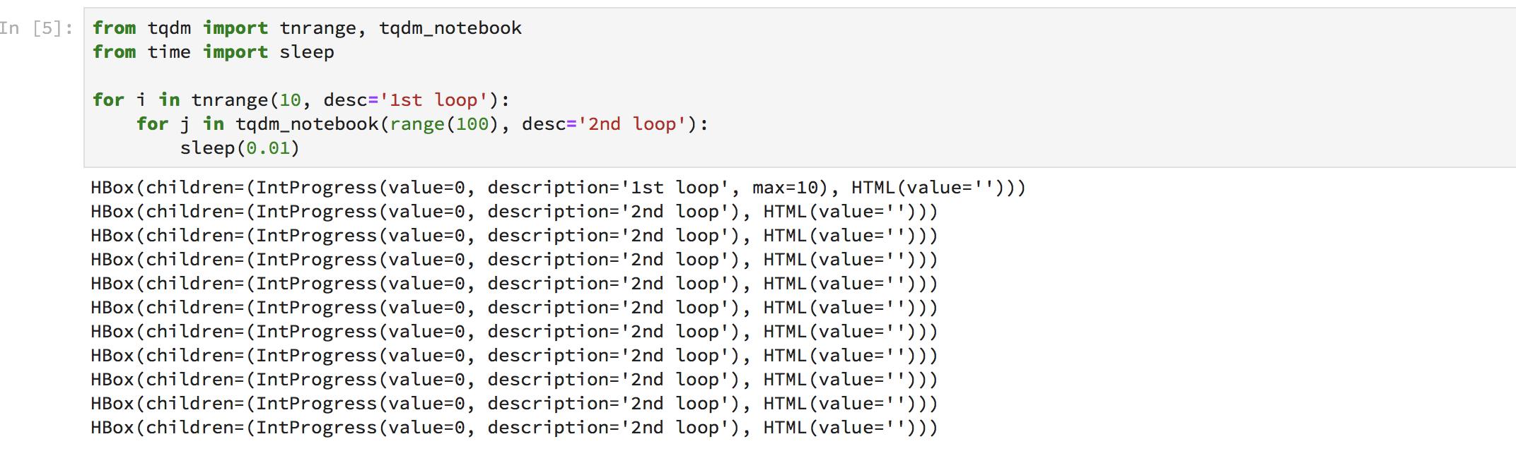 Jupyterlab and tqdm_notebook · Issue #394 · tqdm/tqdm · GitHub