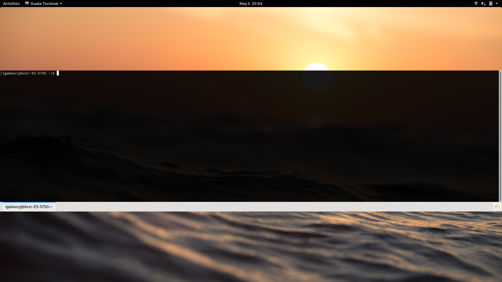 guake centered on screen under Gnome Wayland · Issue #1583