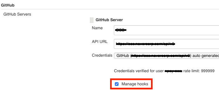 Check manage hook checkbox