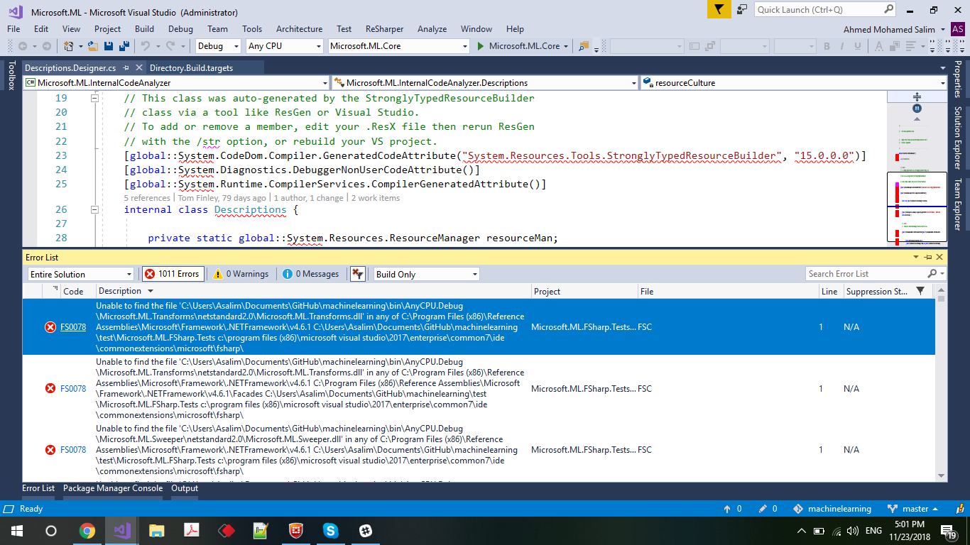 Building in Visual Studio · Issue #28 · dotnet