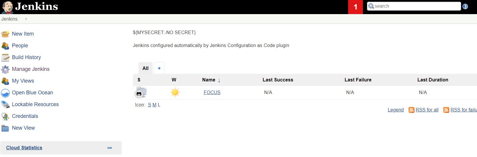 Improve handling secrets in casc yml file · Issue #734
