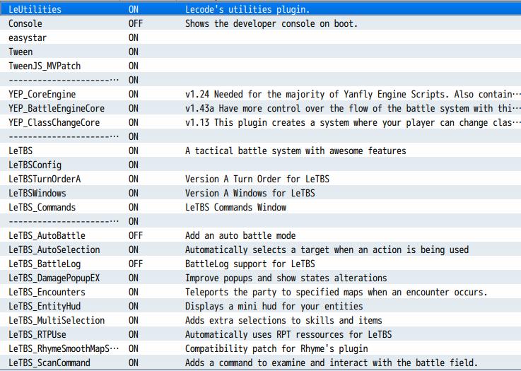 Random Encounter issue · Issue #12 · LecodeMV/leTBS · GitHub