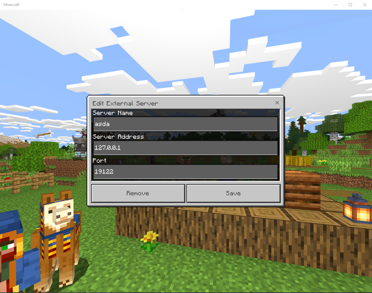 Minecraft clients unable to connect to ProxyPass running locally
