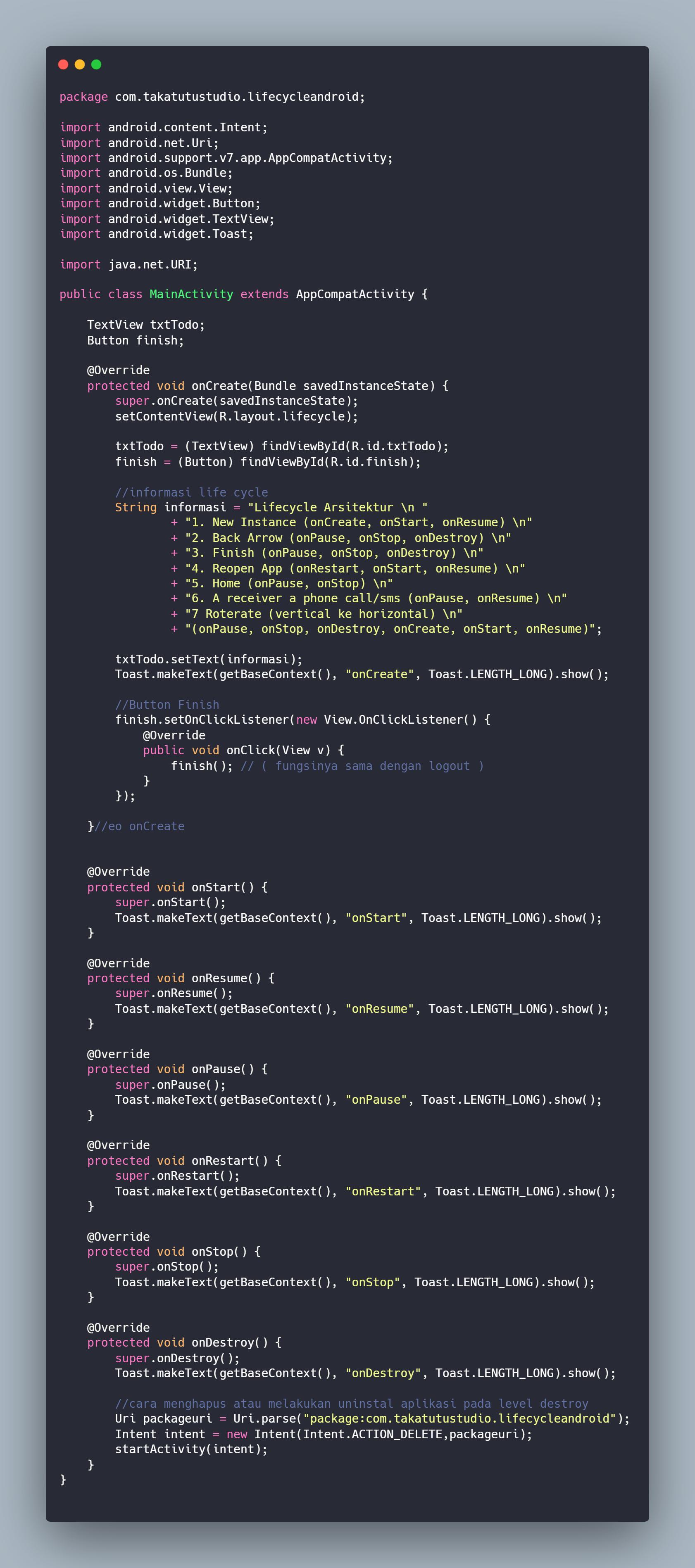 MainActivity.java · Issue #1 · zerkijulian92/LifeCycleAndroid · GitHub