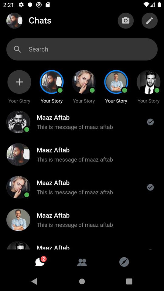 Messenger Clone