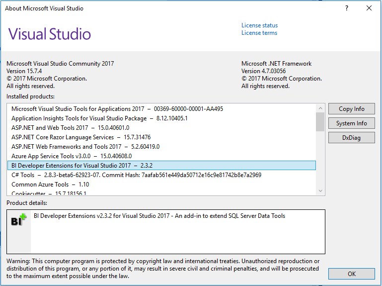 vs 2017 Could not load file or assembly · Issue #67