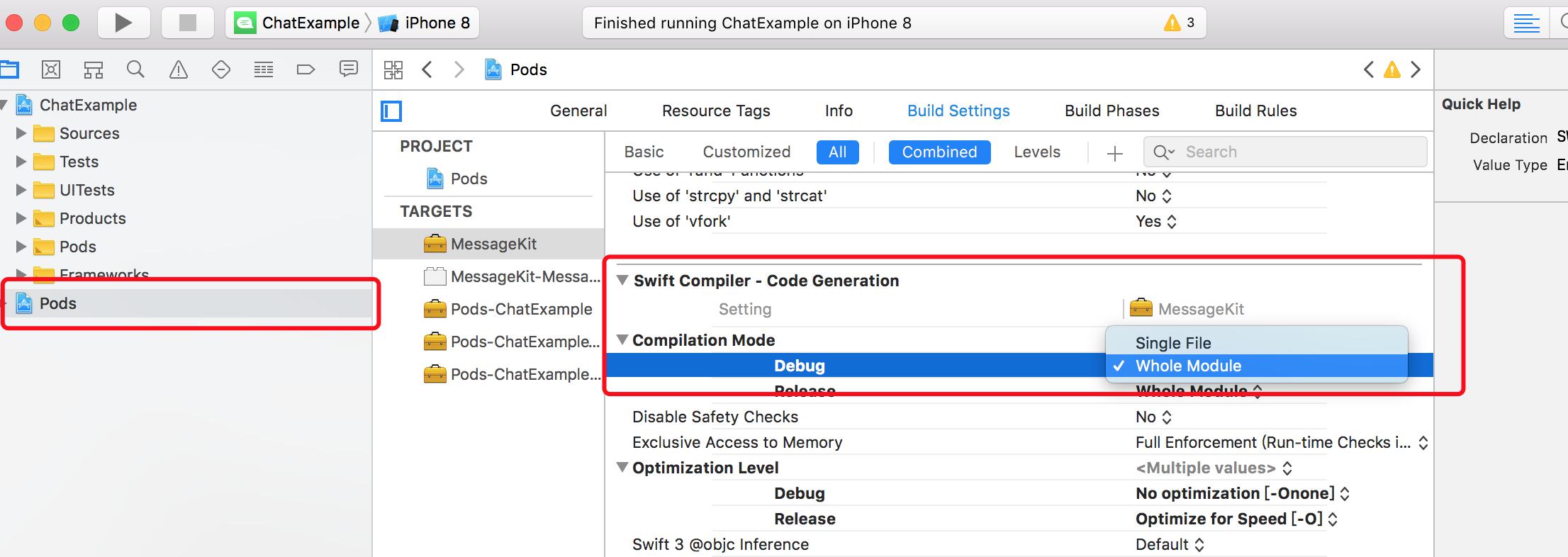 Developers - Segmentation fault: 11 on Xcode 9 3 -