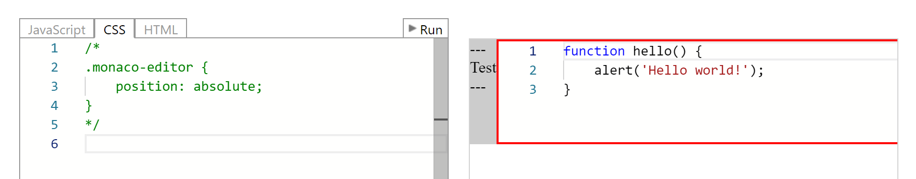 Editor props/extends the actual width of the parent that is a
