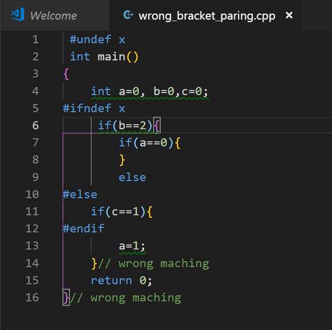 Semantic bracket matching · Issue #73864 · microsoft/vscode · GitHub