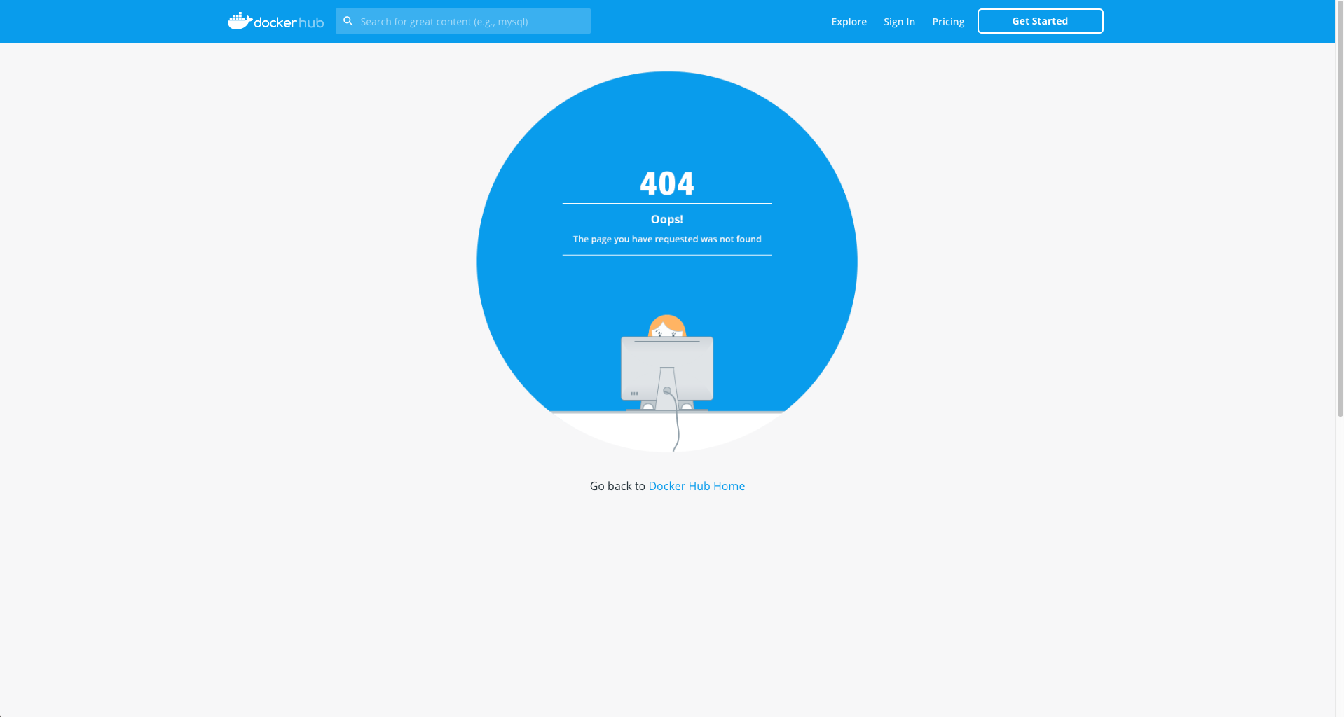 Docker Hub link returns 20 · Issue 20 · cypress io/cypress ...