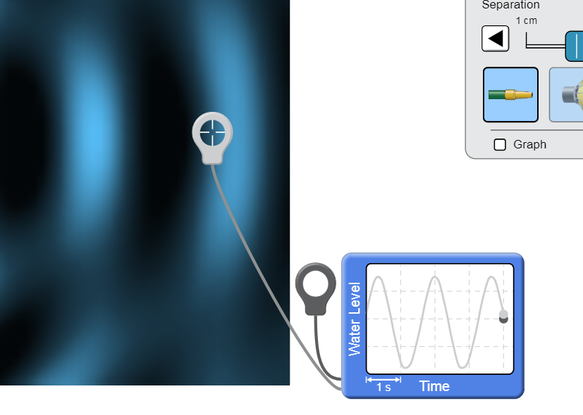 Asymmetry in wave and readout · Issue #142 · phetsims/wave