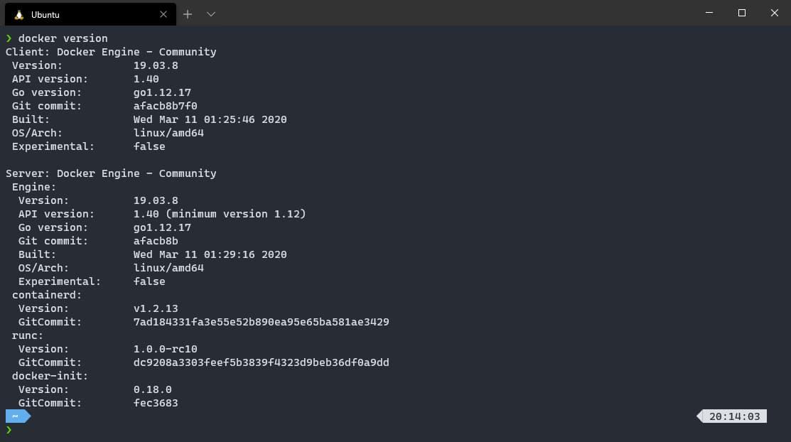 WSL Docker