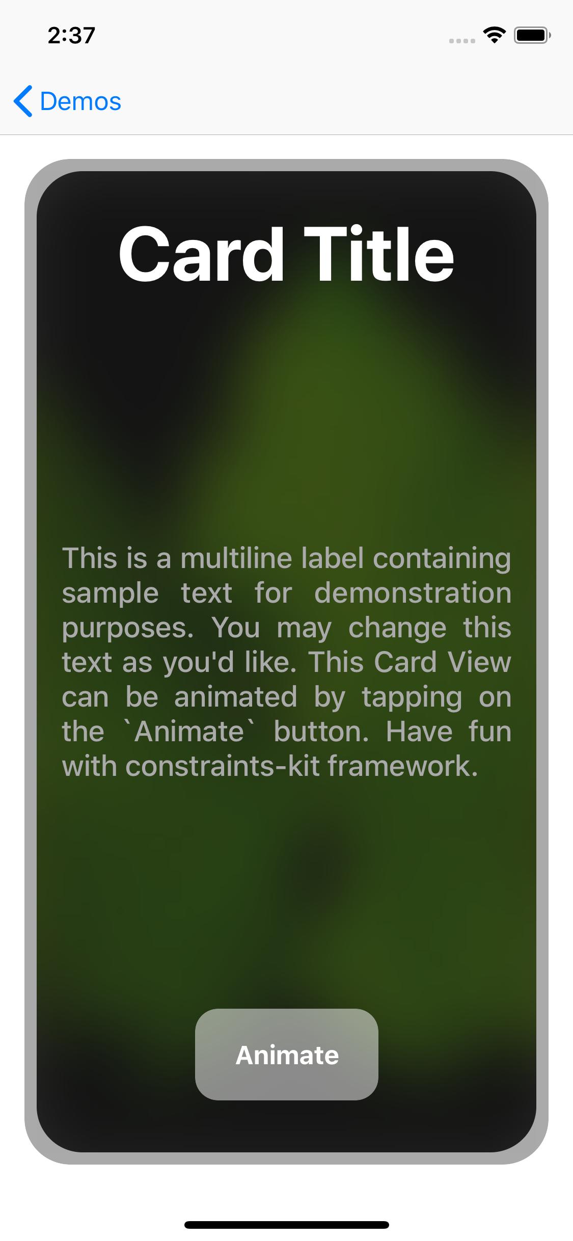 constraints-kit