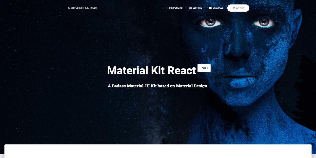 React Node JS Material KIT