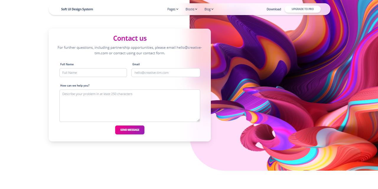 Eleventy (11ty) Soft UI Design