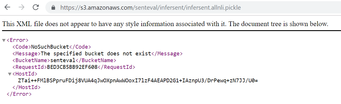 How to download infersent allnli pickle? · Issue #128