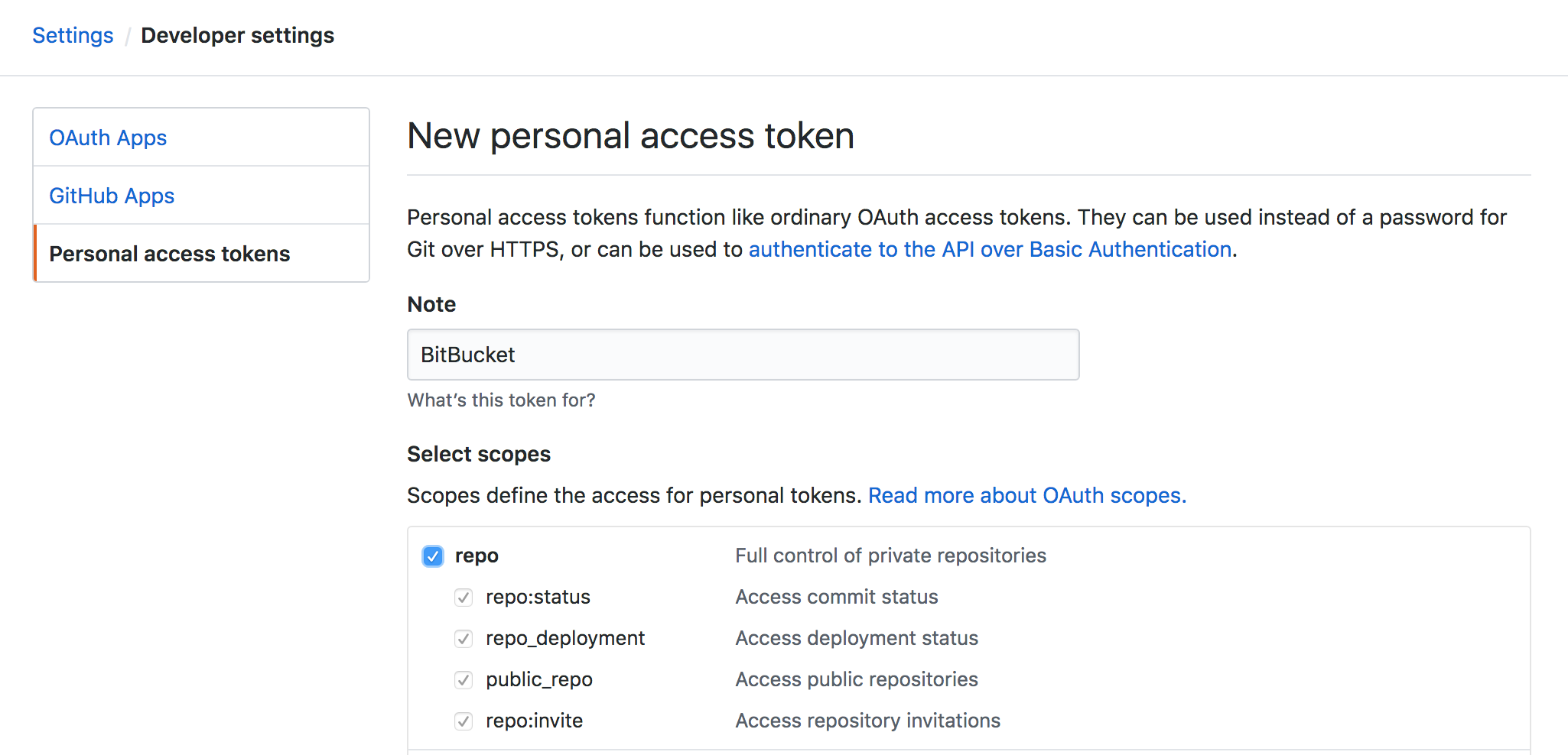 Bitbucket - OAuth Authentication failed on update · Issue #7774