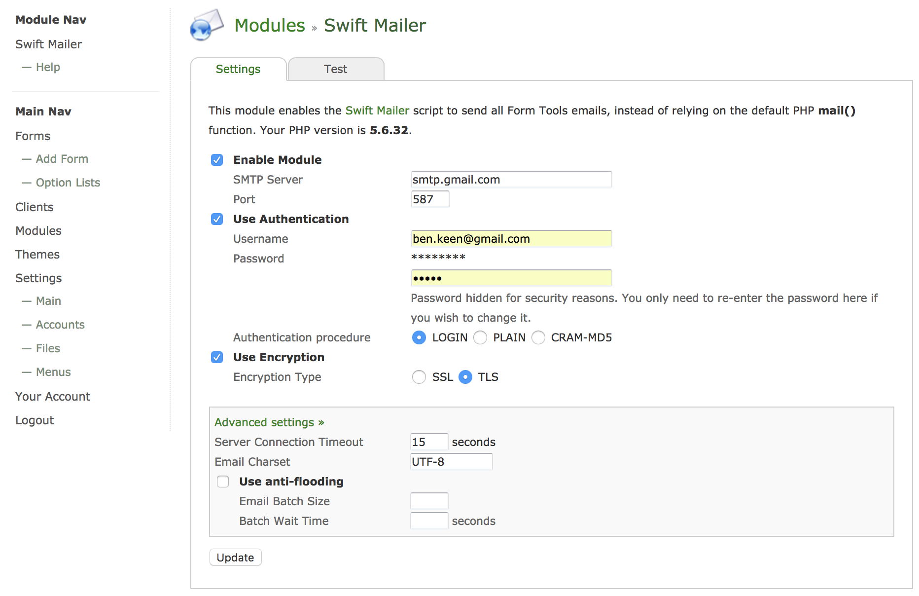 Mailer not working · Issue #469 · formtools/core · GitHub