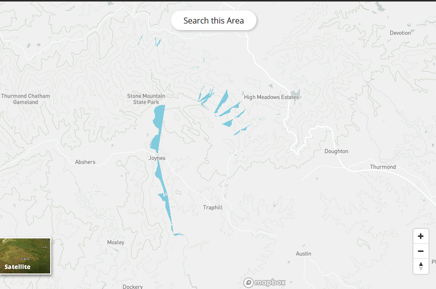 Polyline and Multiline GeoJSON Rendering issue Mapbox Gl v0