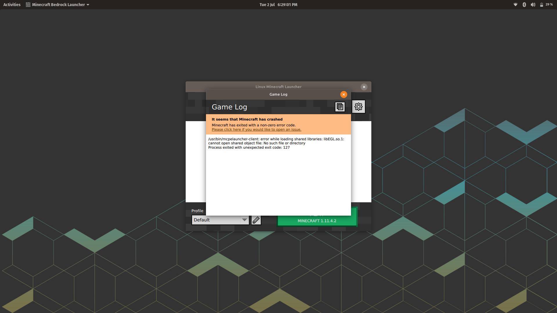 minecraft-linux