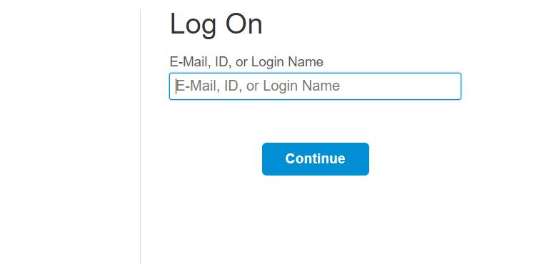SAP CF login