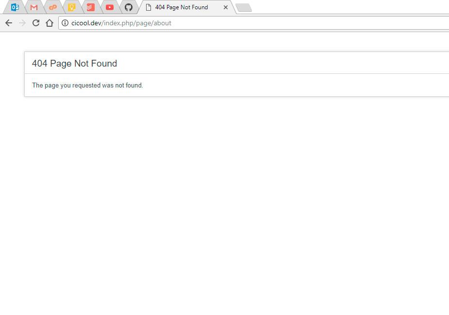 URLs don't work using Laragon as local server · Issue #109